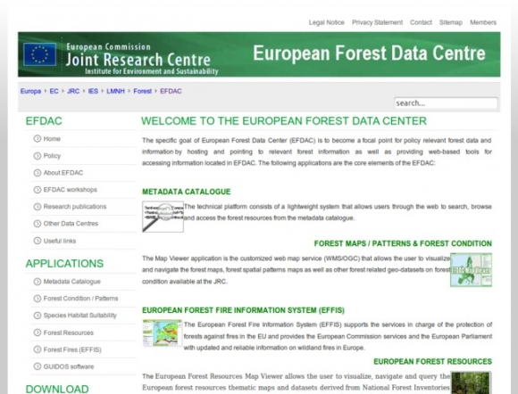European Forest Data Centre
