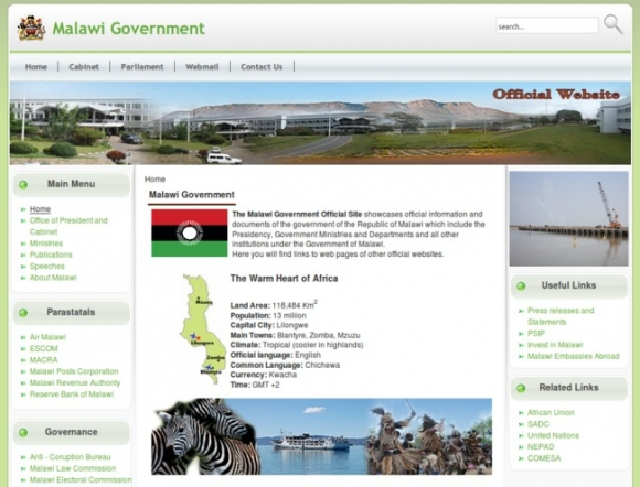 Official Site of the Malawi Government