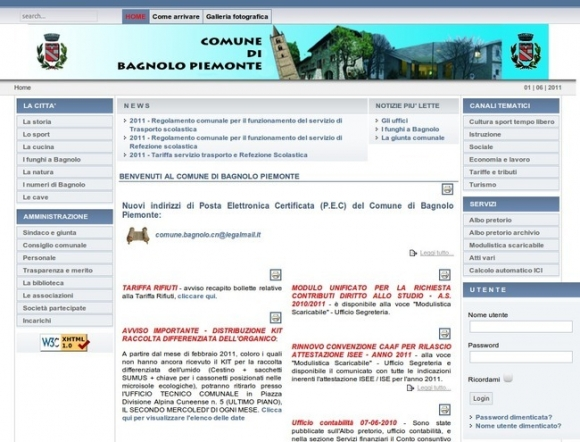 Comune di Bagnolo Piemonte
