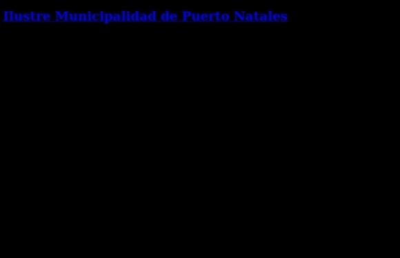 Municipalidad de Puerto Natales