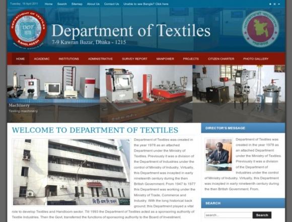 Department of Textiles