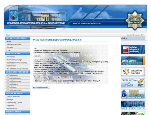 Police Headquarters in Bełchatów