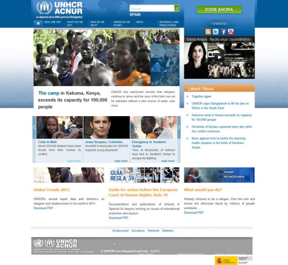 ACNUR - The UN Agency for Refugees, Spain - La Agencia de la ONU para los Refugiados