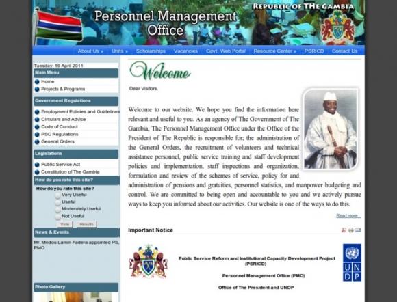 Personnel Management Office
