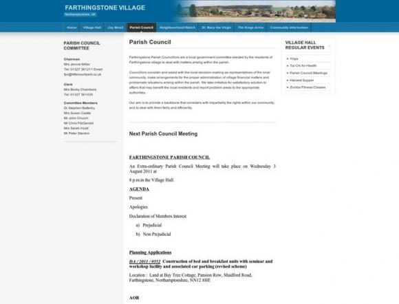 Farthingstone Parish Council