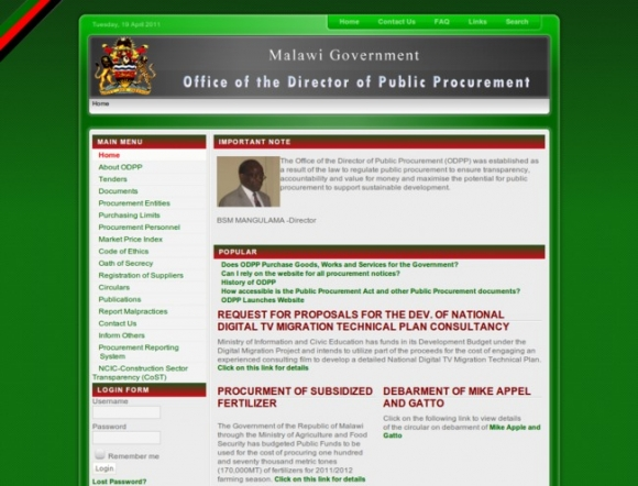 Office of the Director of Public Procurement