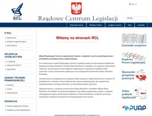 Government Legislation Centre