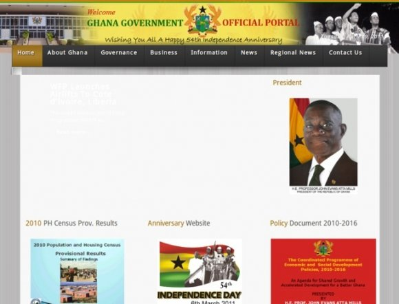Ghana Government Official Portal