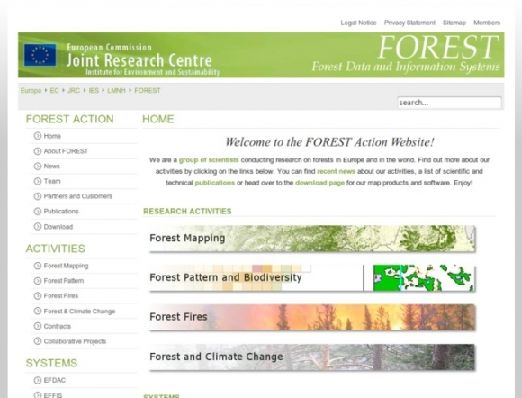 Forest Data and Information Systems