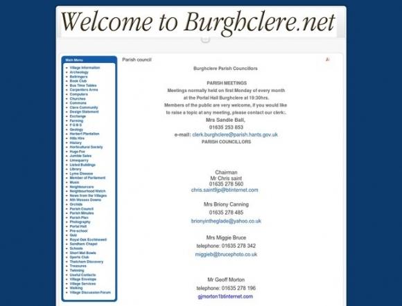 Burghclere Parish Council