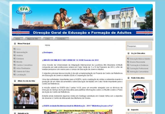 DGEFA - Direcção Geral de Educação e Formação de Adultos