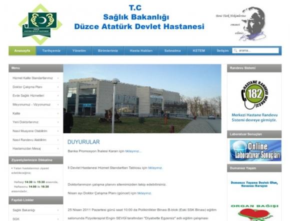 Duzce Ataturk State Hospital