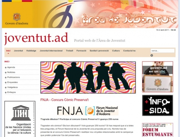 Web Portal for Youth