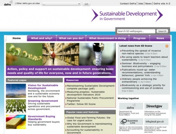 Sustainable Development in Government