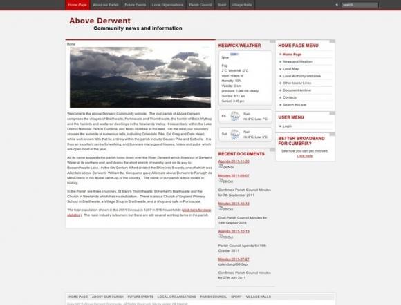 Above Derwent Parish Council