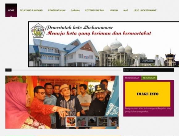 City of Lhokseumawe, Aceh Province