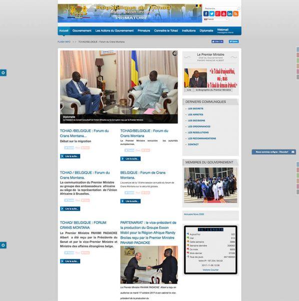 Gouvernement de la Republique du Tchad (Primature)
