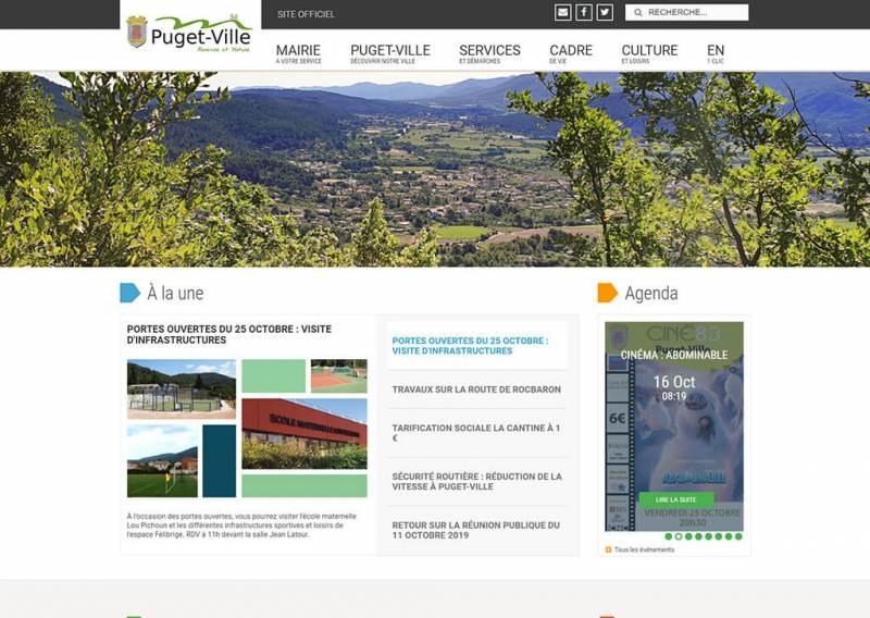 Site officiel de la ville de Puget-Ville