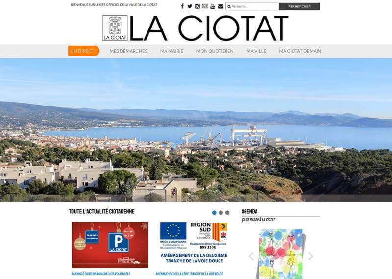 Site officiel de la ville de la Ciotat
