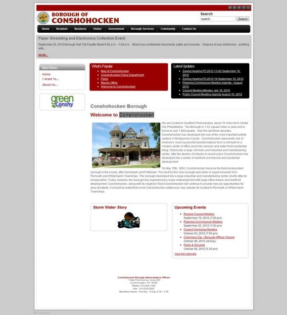 Borough of Conshohocken