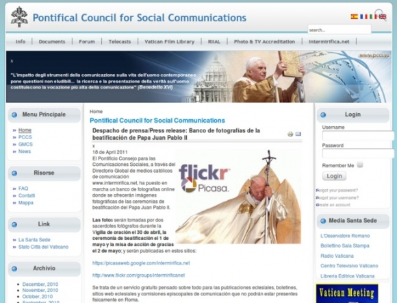 Pontifical Council for Social Communications