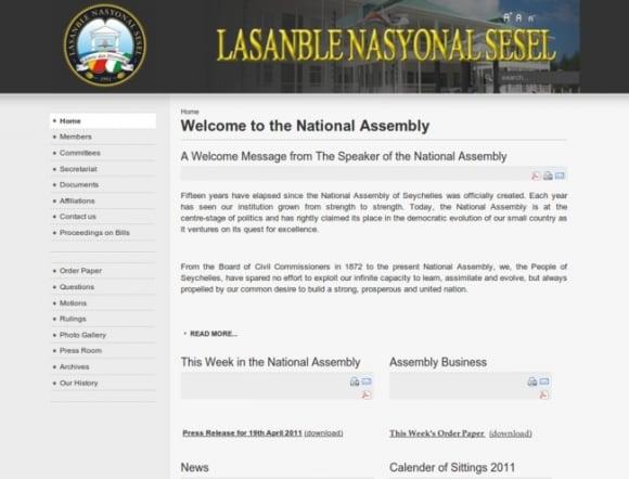 National Assembly - Seychelles