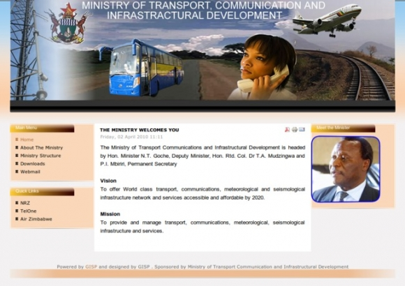 Ministry of Transport Communications and Infrastructural Development