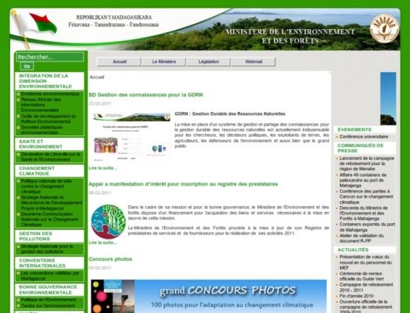 Ministère de L'Environnement et des Forêts
