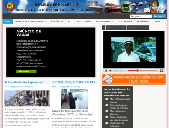 Ministry of Transport and Communication - Mozambique