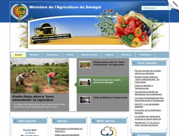 Ministry of Agriculture - Senegal