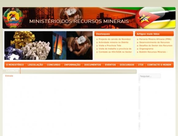 Ministry of Mineral Resources