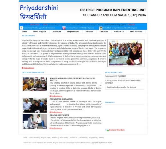 Priyadarshini Project Program NABARD