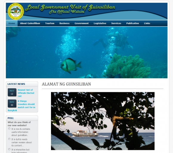 Official Website of the Local Government Unit of Guinsiliban, Camiguin