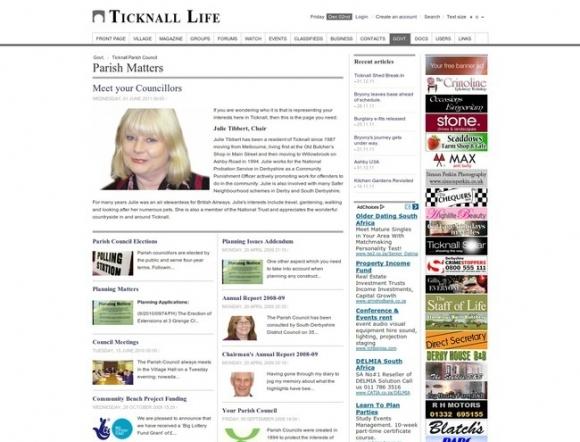 Ticknall Parish Council