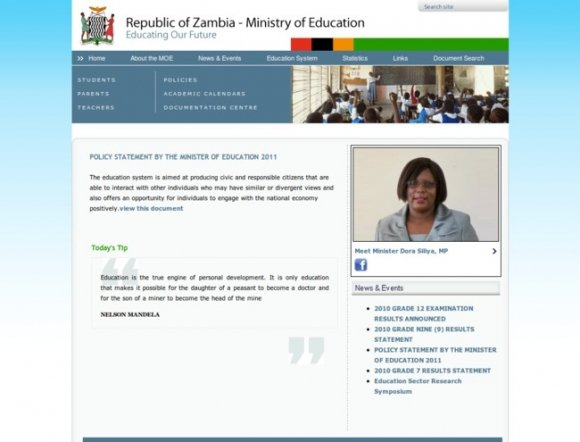 Ministry of Education - Zambia
