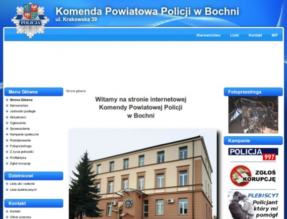 Police Headquarters in Bochnia