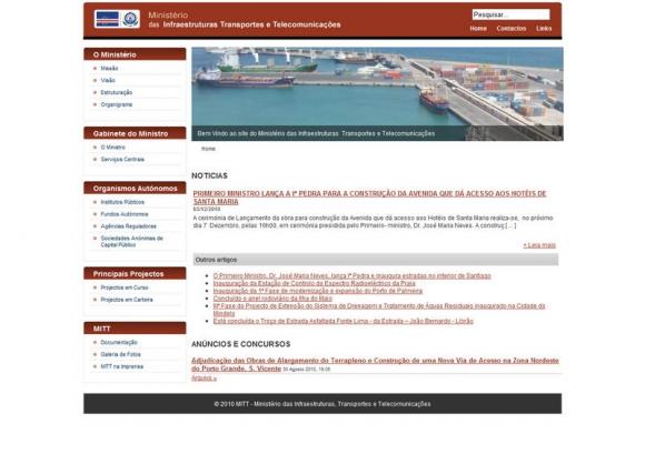 Ministério das Infraestruturas Transportes e Telecomunicações