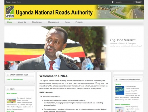 National Roads Authority - Uganda