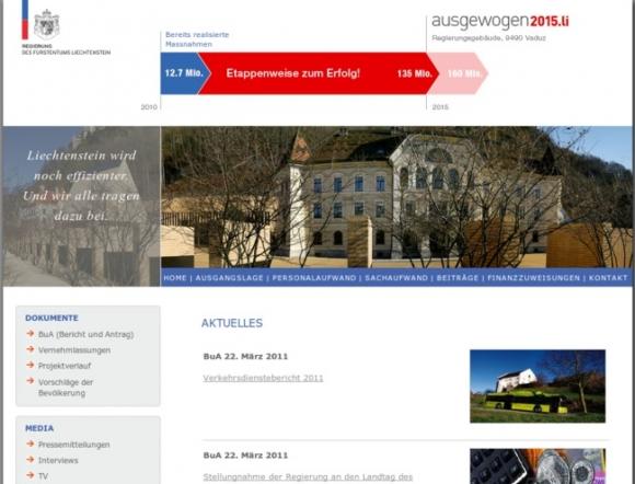 Government Institution Vaduz, Government of Liechtenstein