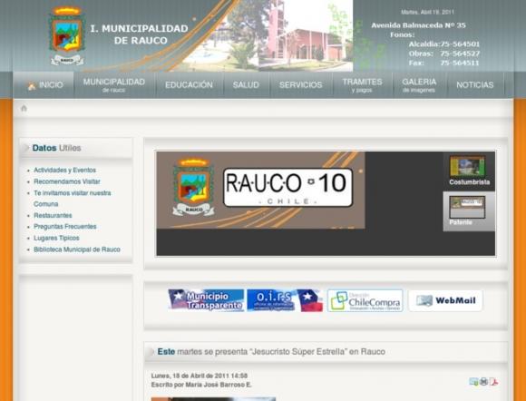 Municipalidad de Rauco