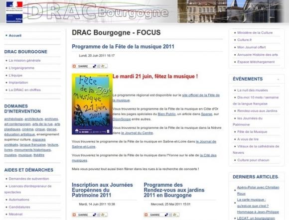 Direction Régionale des Affaires Culturelles de Bourgogne