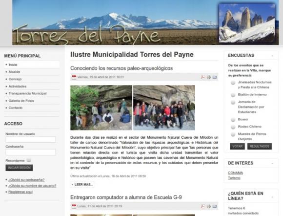 Municipalidad de Torres del Paine