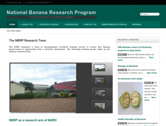 National Banana Research Program