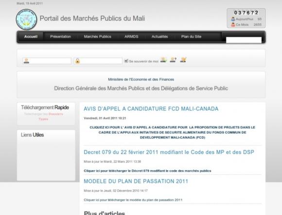 Direction Générale des Marchés Public et des Délegations de Service Public