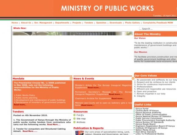 Ministry of Public Works - Kenya