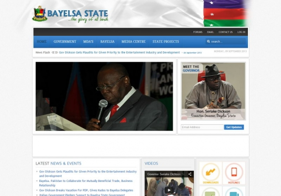 Bayelsa State official Website