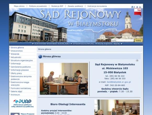 District Court in Białystok - Poland
