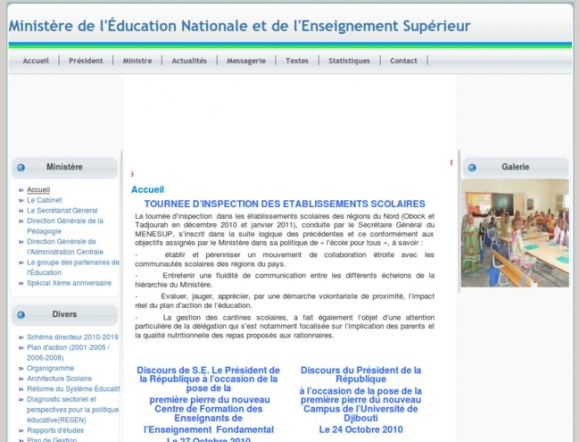 Ministry of National Education and Higher Education