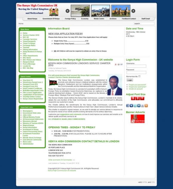 Kenyan High Commission, UK