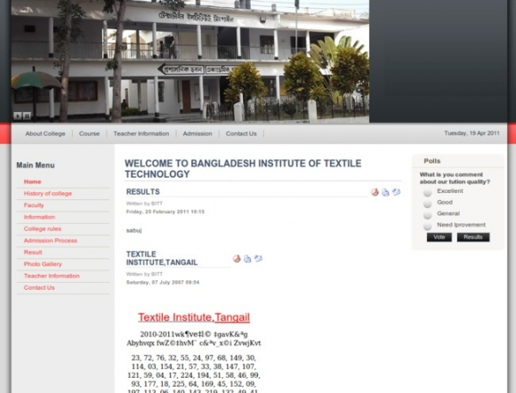 Institute of Textile Technology